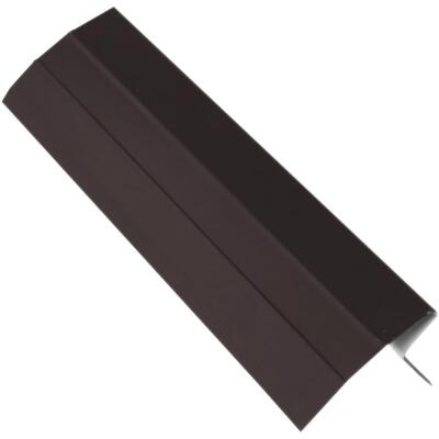 NorWesco D Galvanized Steel Roof & Drip Edge Flashing, Brown