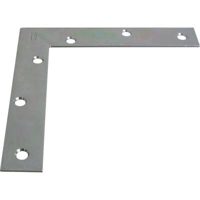 National Catalog 117 6 In. x 1 In. Zinc Flat Corner Iron