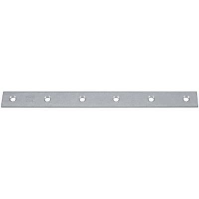 National Catalog 118 12 In. x 1-1/2 In. Galvanized Steel Mending Brace