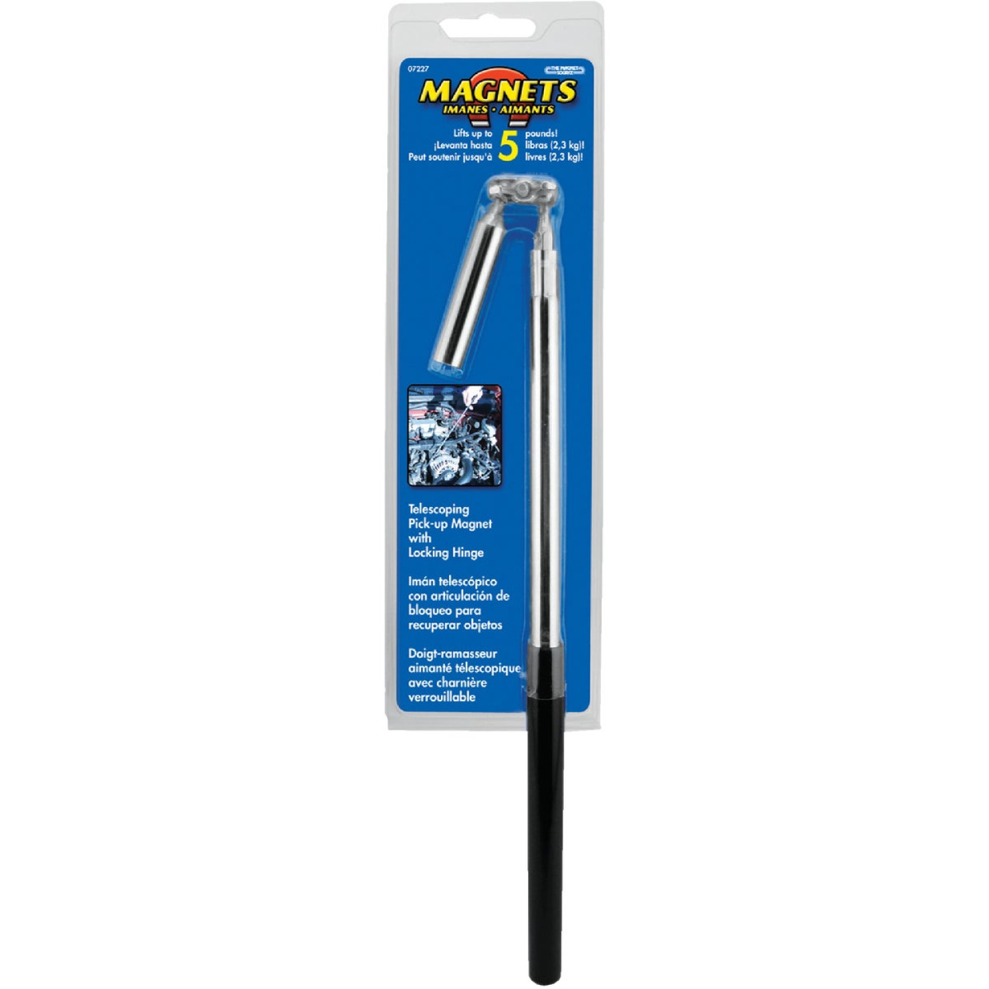 Master Magnetics 24 in. 5 Lb. Magnetic Pick-Up Tool Image 2