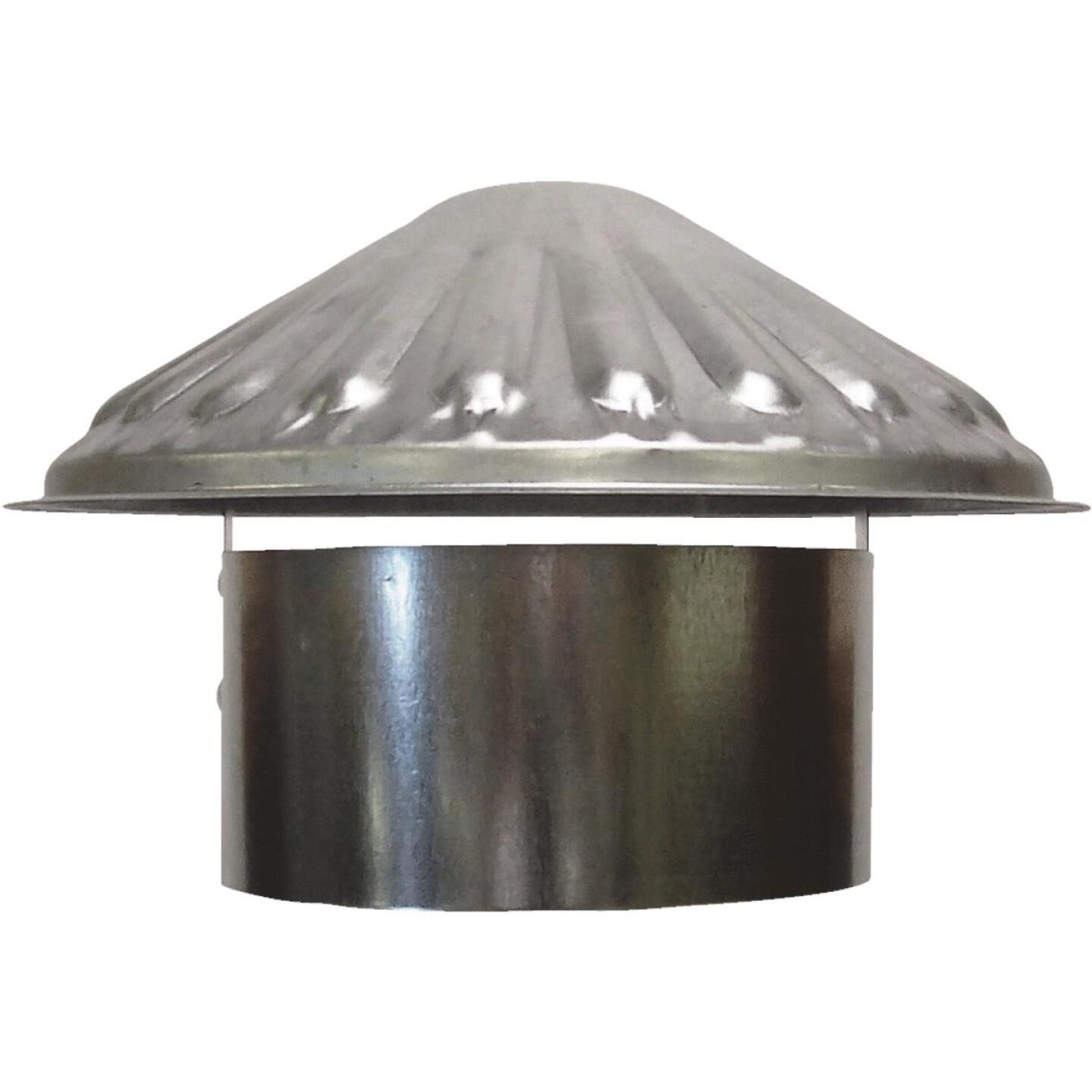 S & K Galvanized Steel 6 In. x 9-1/2 In. Vent Pipe Cap Image 1