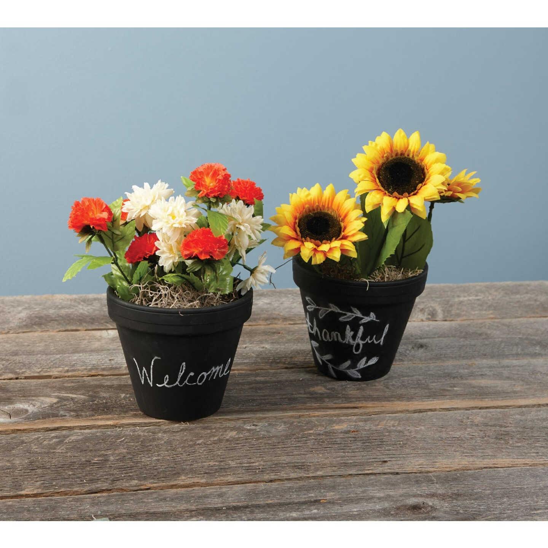 Ceramo 5-1/4 In. H. x 6 In. Dia. Terracotta Clay Standard Flower Pot Image 2