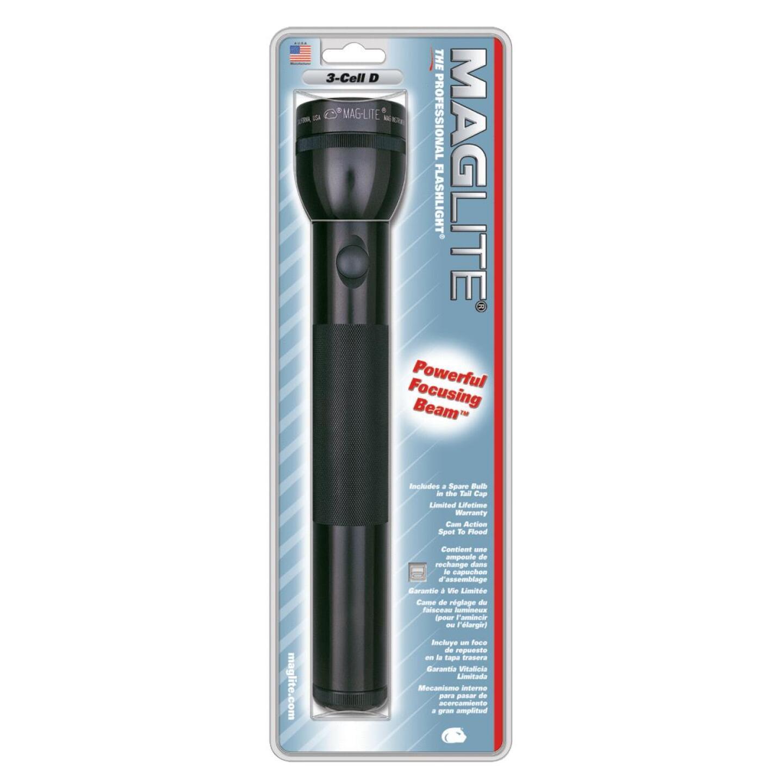 Maglite 45 Lm. Xenon 3D Flashlight, Black Image 2